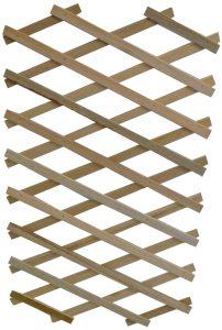 Treillis en bois extensible