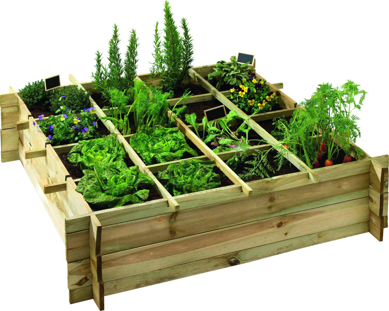 Un potager pour votre balcon un jardin d 39 int rieur de for Carre jardin potager