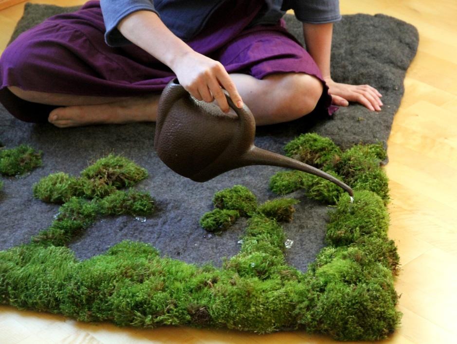 Le tapis jardin