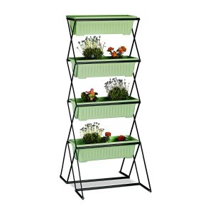 un potager pour votre balcon supports pour potagers verticaux. Black Bedroom Furniture Sets. Home Design Ideas
