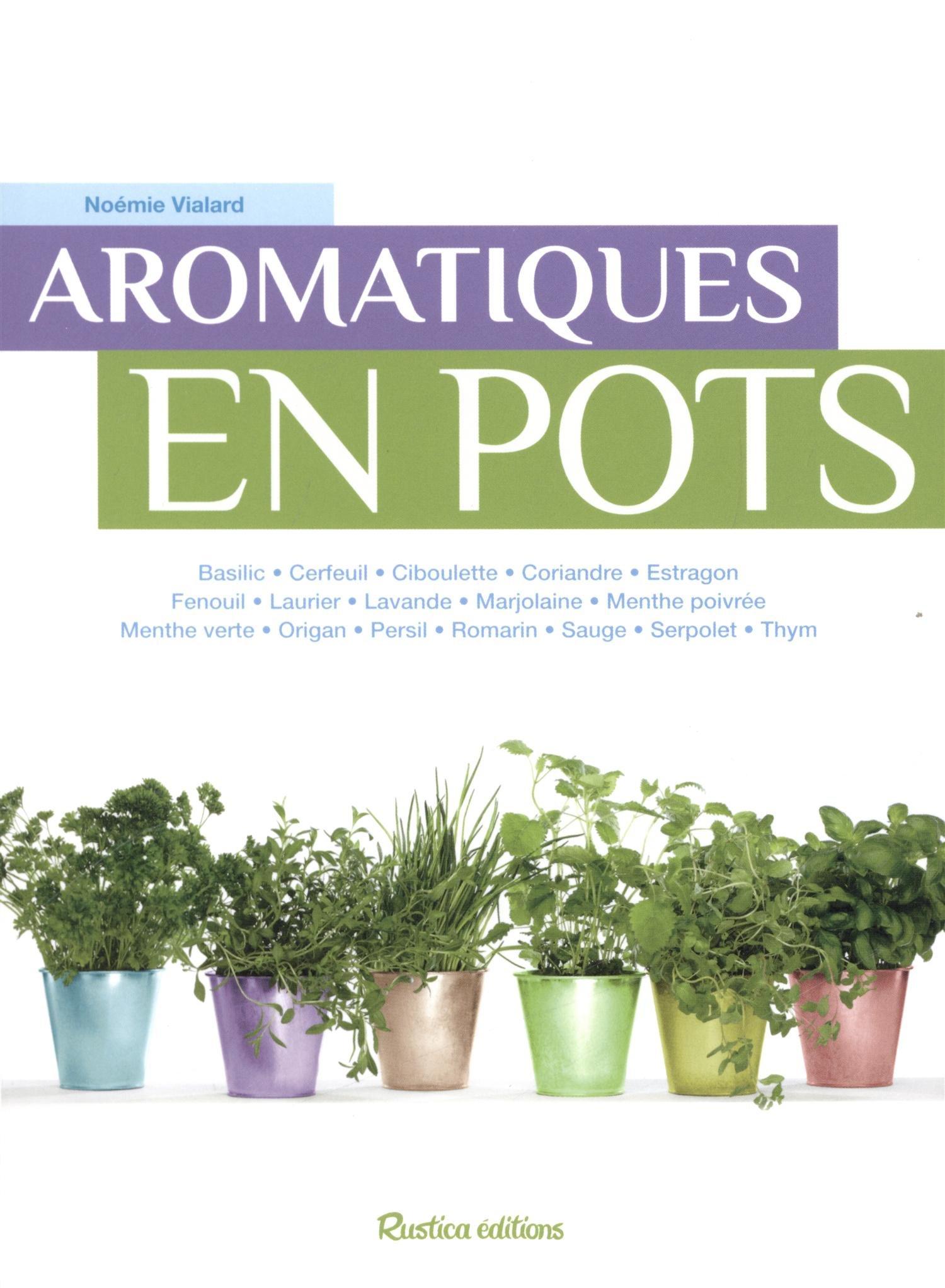 """Livre """"Aromatiques en pots"""""""